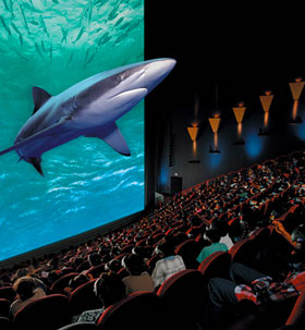 3D IMAX в кинотеатре «Синема Парк», «Ройал Парк» Новосибирска