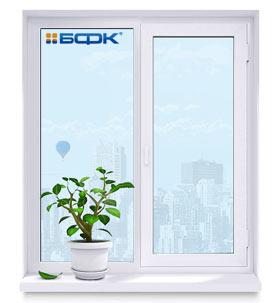 Пластиковые окна от компании БФК